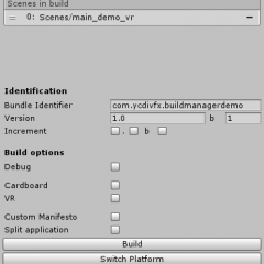 Build Manager for Unity